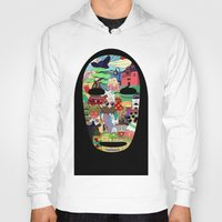 spirited away Hoodies featuring No Face by Ilse S