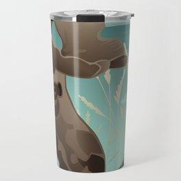 Shiras Moose Travel Mug