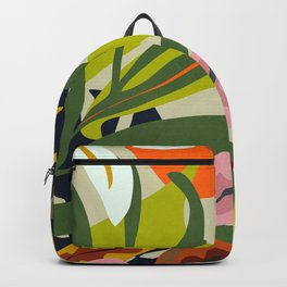 Jungle Abstract 2 Backpack