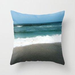 Costa Rican Beach Throw Pillow