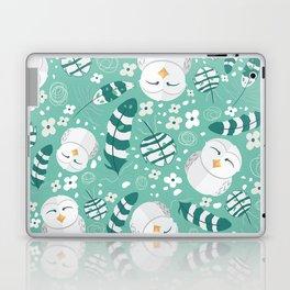 Minty Fresh Owls Laptop & iPad Skin