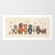 All Together Art Print