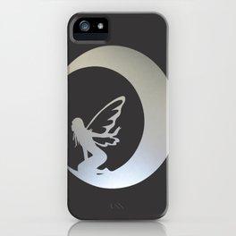 A Fairy on Moon iPhone Case