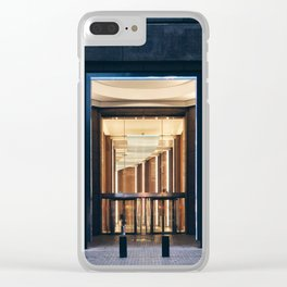 85 Broad Street Clear iPhone Case