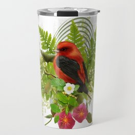 little red bird Travel Mug