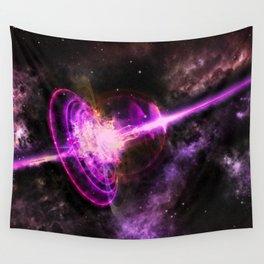 Quasar_Magenta Wall Tapestry