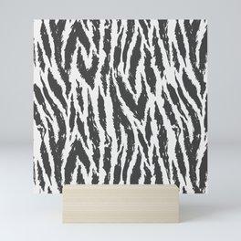 Tiger Stripes Pattern Mini Art Print