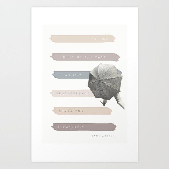 Feminine Fiction v 2 Art Print