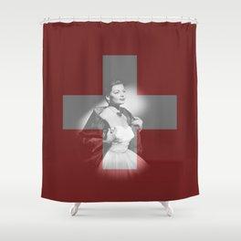 ESC Switzerland 1956 Shower Curtain