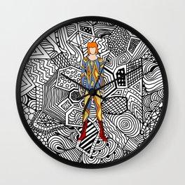 Heroes Fashion 1 Wall Clock