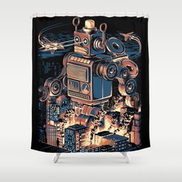 Night of the Toy Shower Curtain