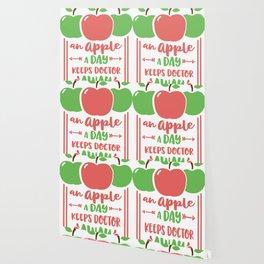 an apple a day keeps doctor away Wallpaper