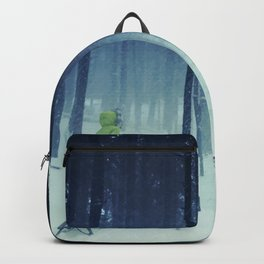 into the snowy woods Backpack