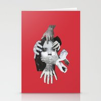 mad Stationery Cards featuring Mad by fabiotir
