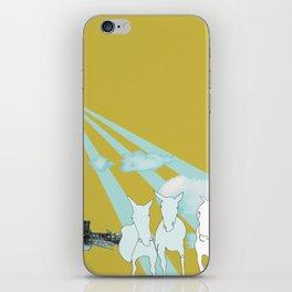 Horses. iPhone Skin