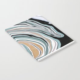Teal Scape Notebook