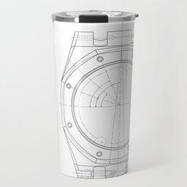 Audemars Piguet Royal Oak blueprint Travel Mug