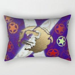 Monky Cross Bones Rectangular Pillow