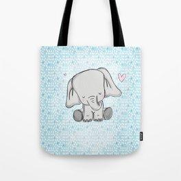 elephant tears Tote Bag