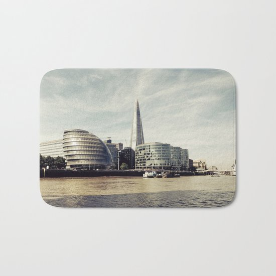 London city view Bath Mat