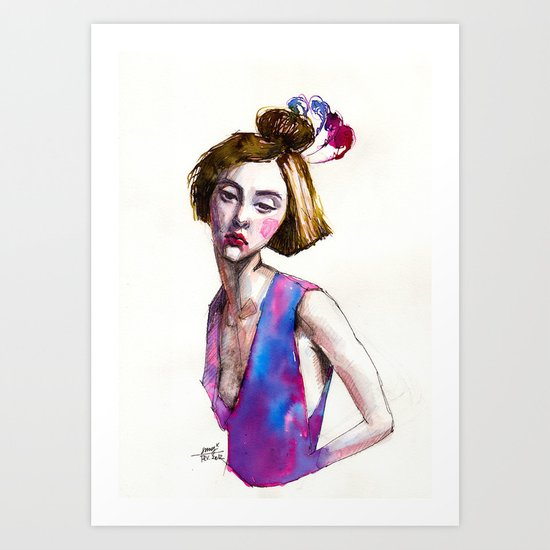 Fashion I  Art Print