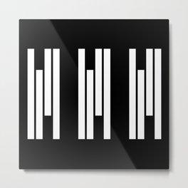 Rhythm Metal Print