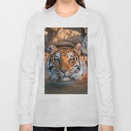 Sheba in the Pool Long Sleeve T-shirt