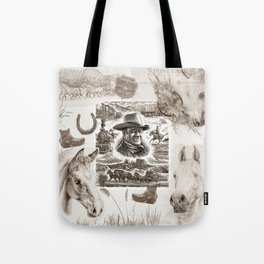 Country Western Tote Bag