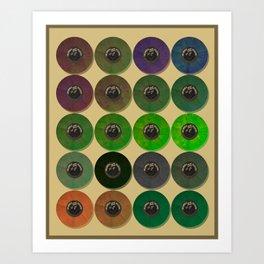 Recordalings 2 Art Print