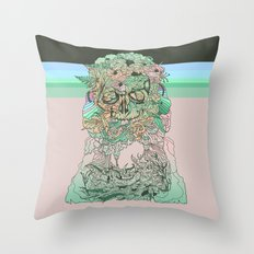 l o s t w o r d s Throw Pillow