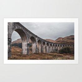 Glenfinnan Viaduct Scotland Art Print
