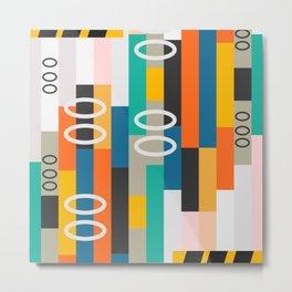 Modern abstract construction Metal Print