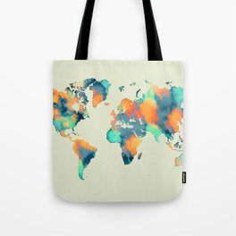 map world map 57 Tote Bag