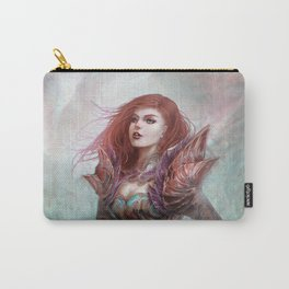 Diamond in the rough - Fantasy magic girl character concept Carry-All Pouch
