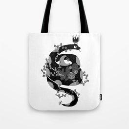 A witch companion Tote Bag