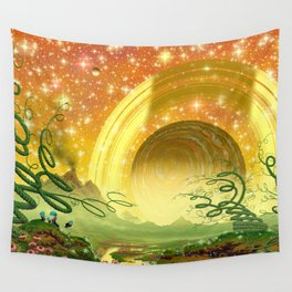 Majestic Night Wall Tapestry