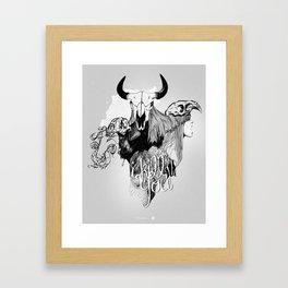 I Kill You Framed Art Print