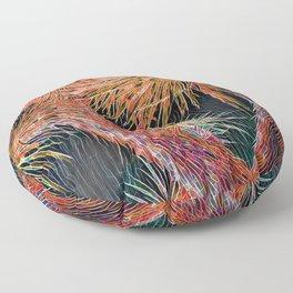 Joshua Tree Mosaic by CREYES Floor Pillow