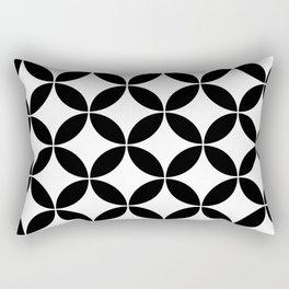 Geometric Pattern #65 (circles) Rectangular Pillow