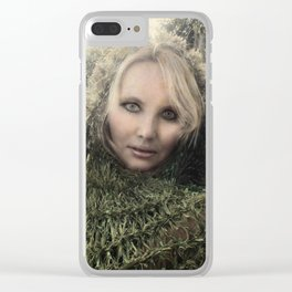 """VAMPLIFIED """"Absinthe Romance"""" Clear iPhone Case"""