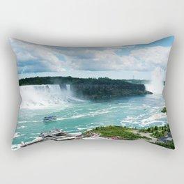The Niagara Falls Rectangular Pillow