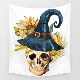 Skull 05 Wall Tapestry