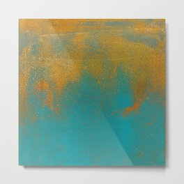Abstract No. 326 Metal Print