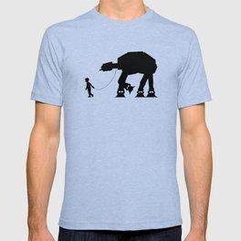 A Boy and His AT-AT T-shirt