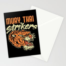 Muay Thai Strikers Tiger Kickboxing MMA Material Arts Judo Karate Gift Stationery Cards