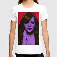 emma stone T-shirts featuring Emma Stone by Bolin Cradley Art