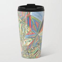 Cluster of Dimensions Travel Mug