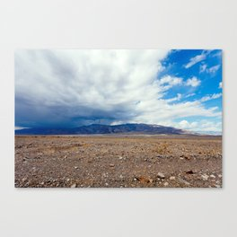 Rain Cometh in Death Valley Canvas Print