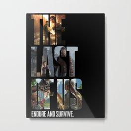 The Last of Us Metal Print