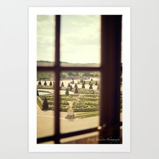 Windows of Versailles II Art Print
